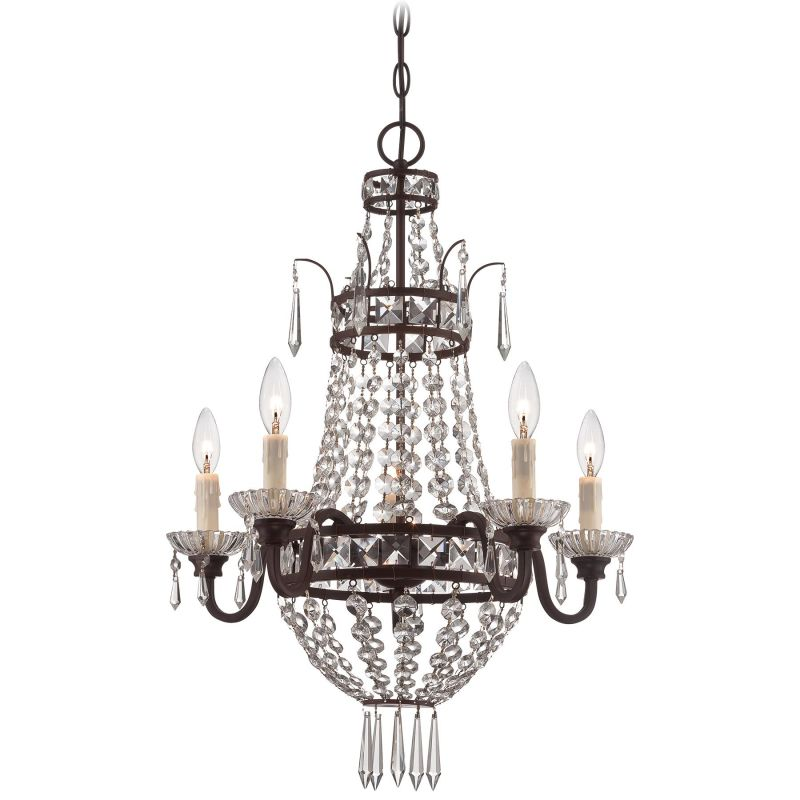 Minka Lavery 3136 5 Light 27&quote Height 1 Tier Empire Chandelier Deep