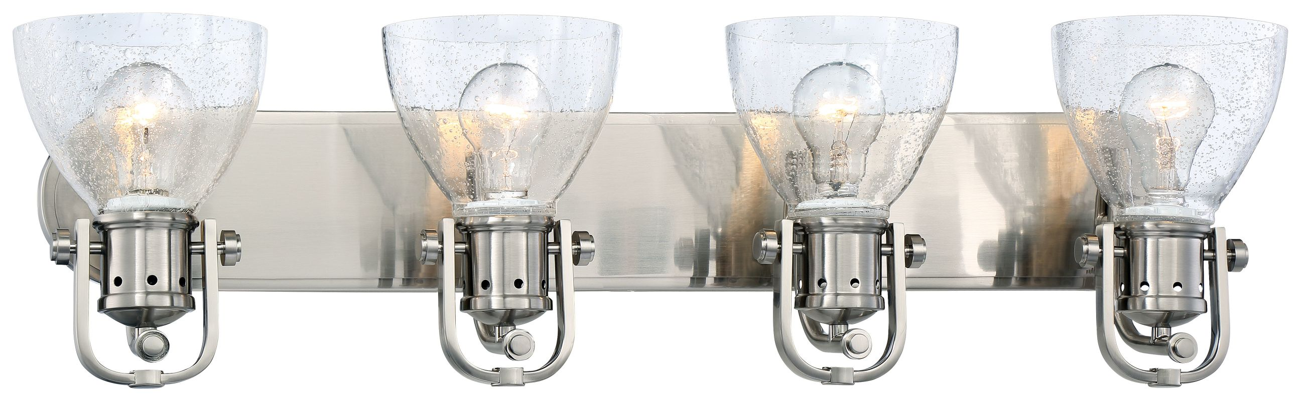 Minka Lavery 3414-84 4 Light Vanity Light from the Seeded Bath Art