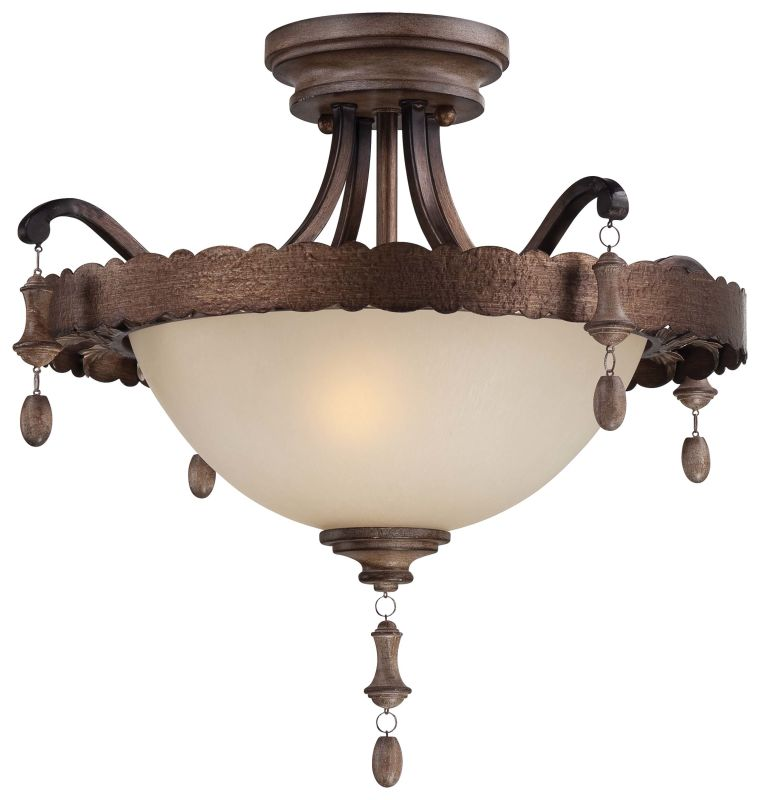 Minka Lavery 4128-563 Rustique Patina 2 Light Semi-Flush