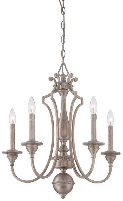 Minka Lavery 4865-279 5 Light 1 Tier Candle Style Chandelier from the