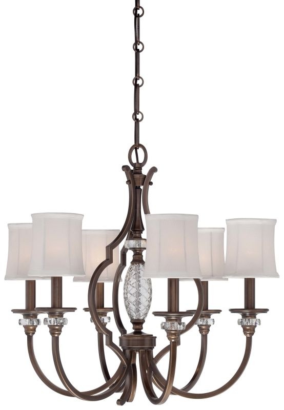 Minka Lavery 4946-570 6 Light 1 Tier Chandelier from the Thorndale