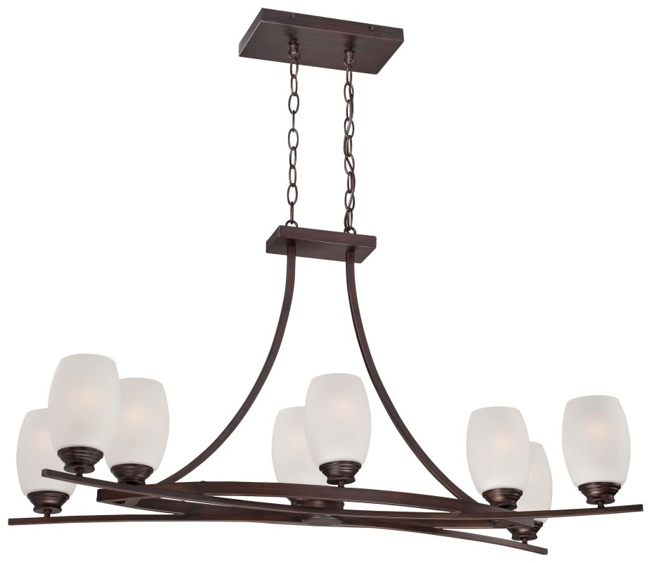 Minka Lavery 4958-267B 8 Light 1 Tier Chandelier from the City Club