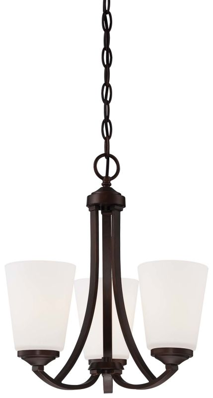 Minka Lavery 4963-284 3 Light 1 Tier Chandelier from the Overland Park