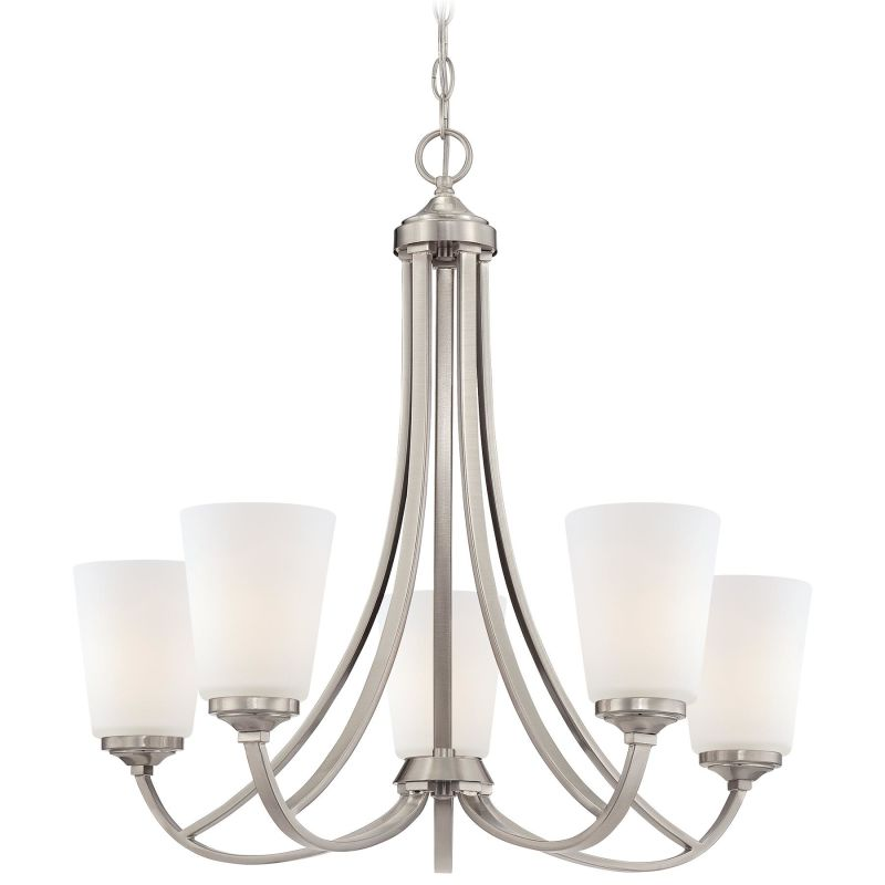 Minka Lavery 4965 5 Light 1 Tier Chandelier from the Overland Park