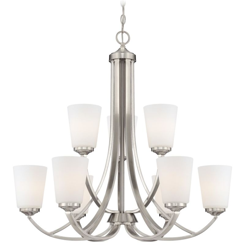 Minka Lavery 4969 9 Light 2 Tier Chandelier from the Overland Park
