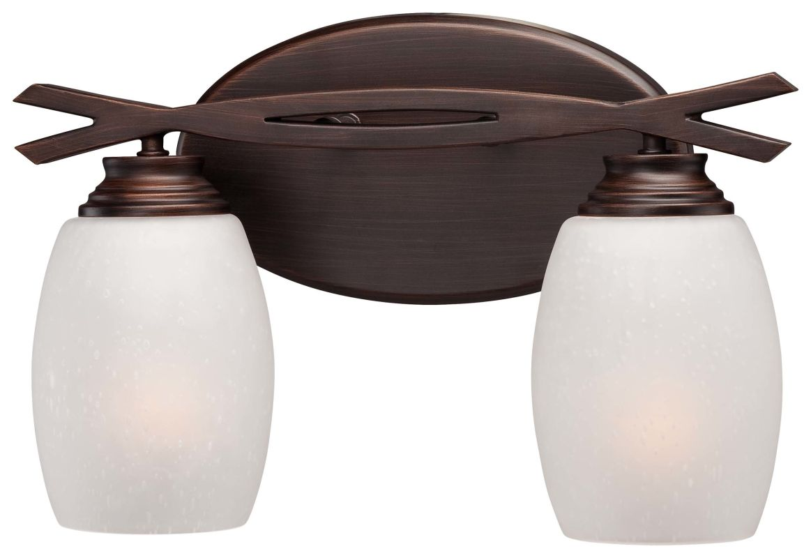 Minka Lavery 6952-267B 2 Light Bathroom Vanity Light from the City