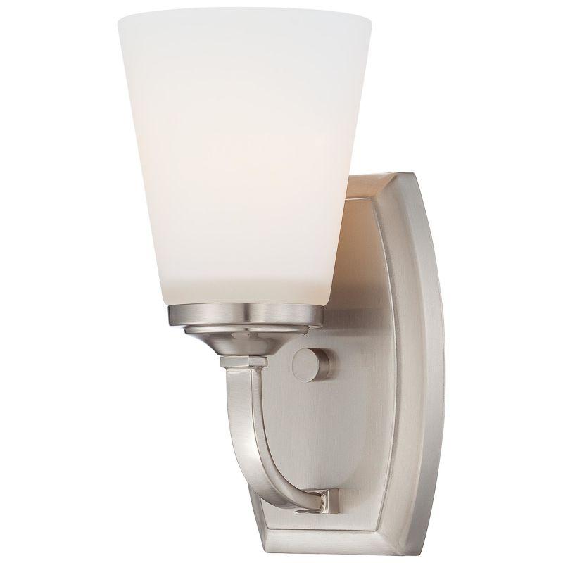 Minka Lavery 6961 1 Light Bathroom Sconce from the Overland Park