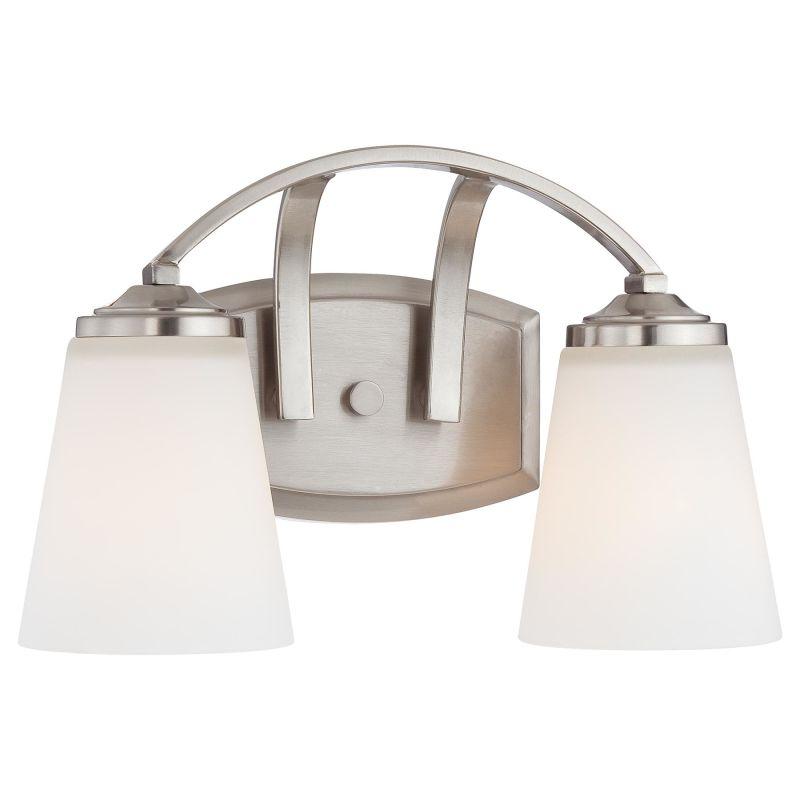 Minka Lavery 6962 2 Light Bathroom Vanity Light from the Overland Park