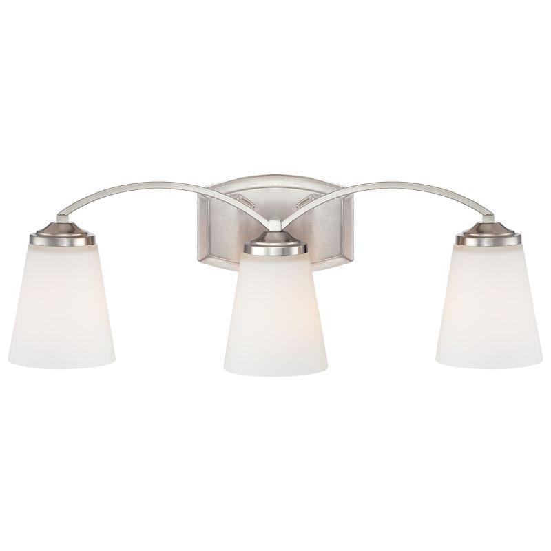 Minka Lavery 6963 3 Light Bathroom Vanity Light from the Overland Park