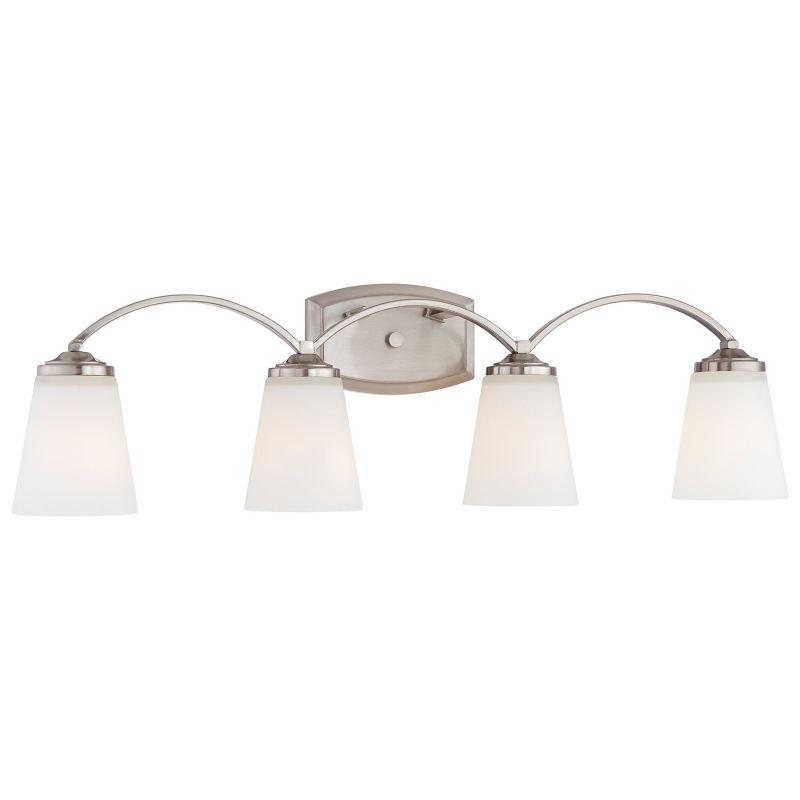 Minka Lavery 6964 4 Light Bathroom Vanity Light from the Overland Park