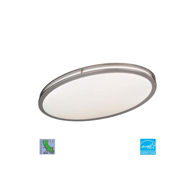 "Minka Lavery ML 863-PL 2 Light 29"" Wide Energy Star Fluorescent Flush Sale $165.00 ITEM: bci347948 ID#:863-84-PL UPC: 747396053646 :"
