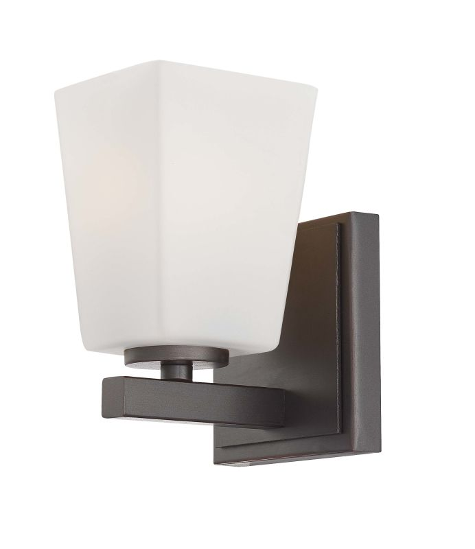 Minka Lavery 6541 1 Light Bathroom Sconce from the City Square