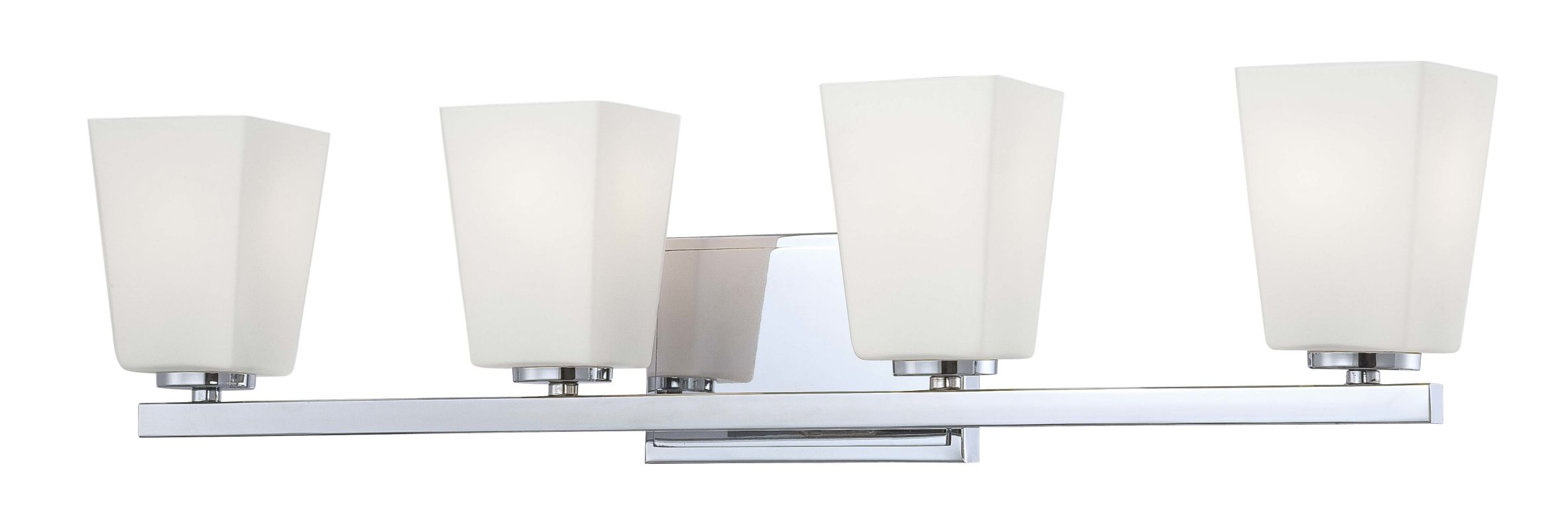 Minka Lavery 6544 4 Light Bathroom Vanity Light from the City Square Sale $195.90 ITEM: bci1723149 ID#:6544-77 UPC: 747396076935 :