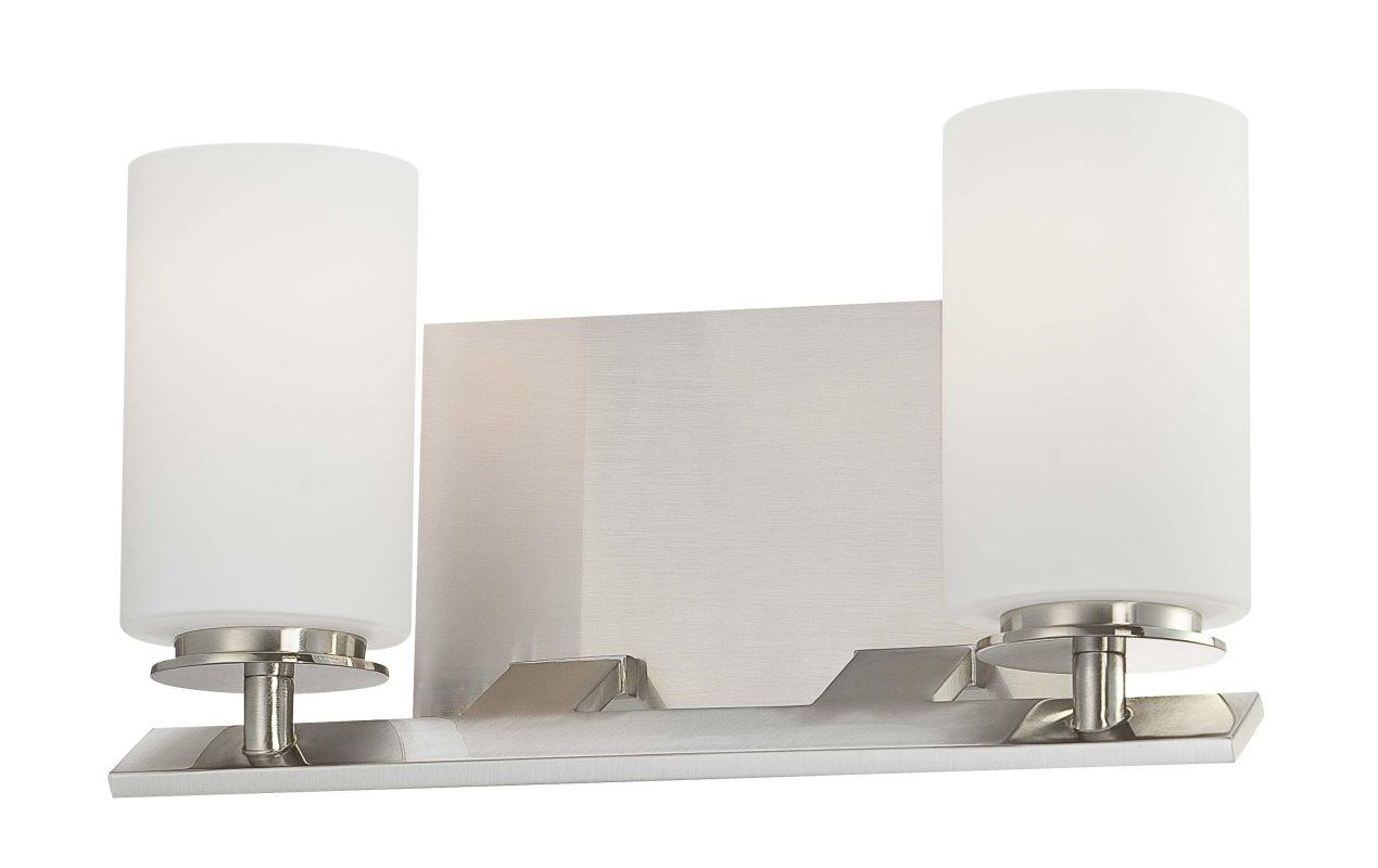 Minka Lavery 6552-84 Brushed Nickel Contemporary Inoui Bathroom Light