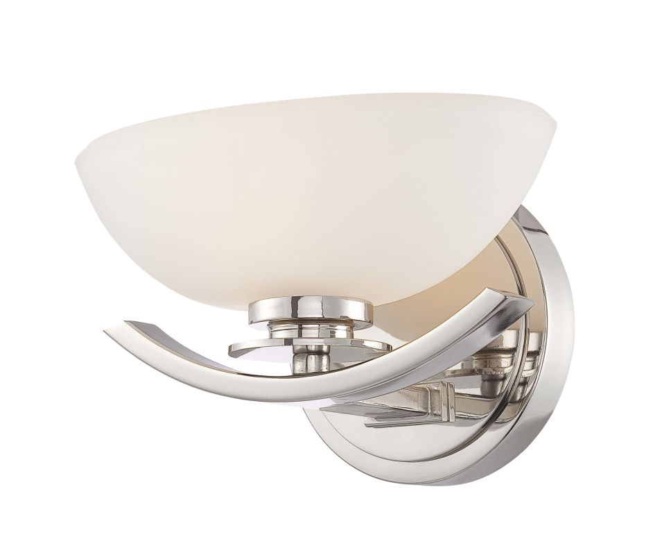 Minka Lavery 6921 1 Light Bathroom Sconce from the Signatures