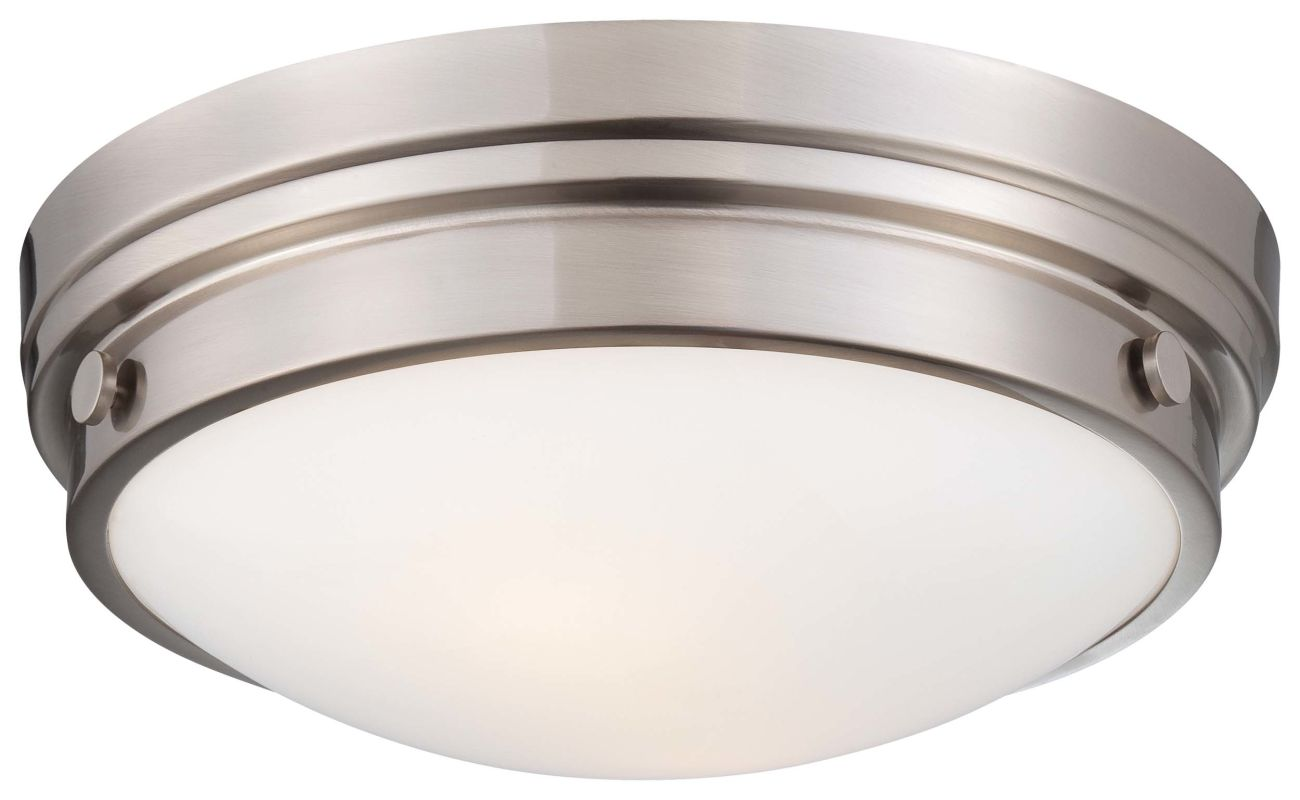Minka Lavery 823 2 Light 13.25&quote Width Flush Mount Ceiling Fixture