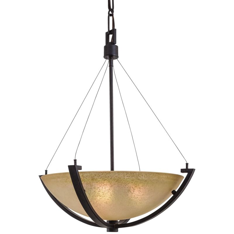 Minka Lavery ML 1182 3 Light Indoor Bowl Shaped Pendant from the
