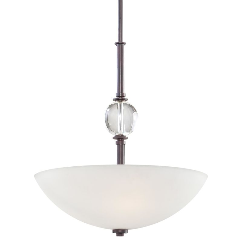 Minka Lavery 1614 3 Light Indoor Bowl Shaped Pendant from the Modern