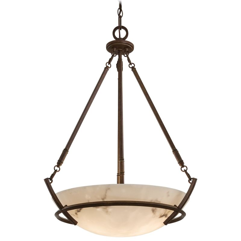 Minka Lavery ML 682 3 Light Indoor Bowl Shaped Pendant from the