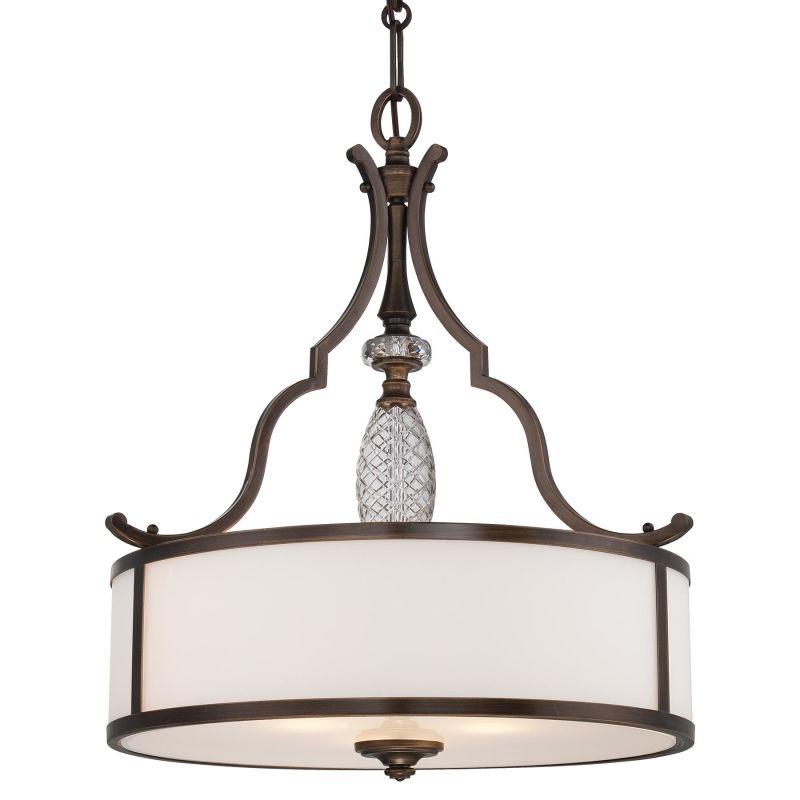 Minka Lavery 4944-570 3 Light Indoor Drum Pendant from the Thorndale