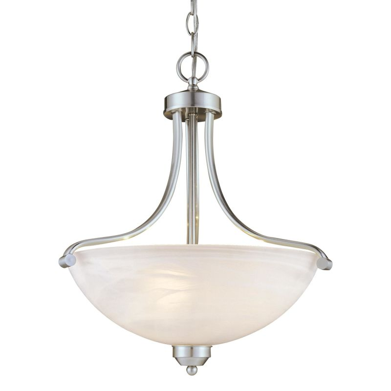 Minka Lavery ML 1426-PL 3 Light Indoor Bowl Shaped Pendant from the