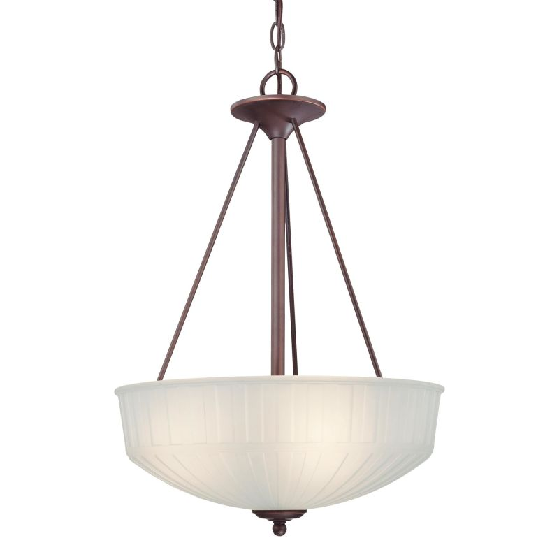Minka Lavery 1737-1 3 Light Indoor Bowl Shaped Pendant from the 1730 Sale $289.90 ITEM: bci1160049 ID#:1737-1-167 UPC: 747396070674 :