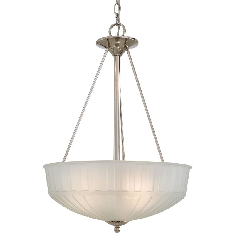 Minka Lavery 1737-1 3 Light Indoor Bowl Shaped Pendant from the 1730 Sale $127.04 ITEM: bci1723100 ID#:1737-1-613 UPC: 747396078199 :