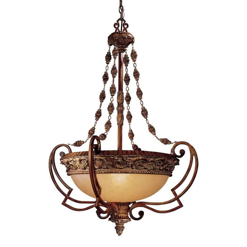 Minka Lavery ML 953 4 Light Indoor Bowl Shaped Pendant from the