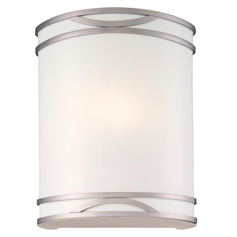 "Minka Lavery ML 371-PL 1 Light 8.75"" Width ADA Flush Mount Wall Sconce"