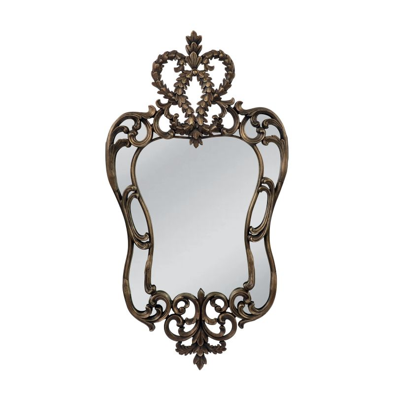 "Mirror Masters MP3259 Edward III 24"" Specialty Mirror with Decorative"