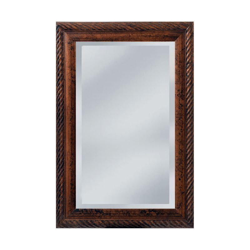 "Mirror Masters MW2050C Monahan 32"" Rectangular Mirror with Decorative Sale $212.00 ITEM: bci2910949 ID#:MW2050C-0047 UPC: 811137020577 :"