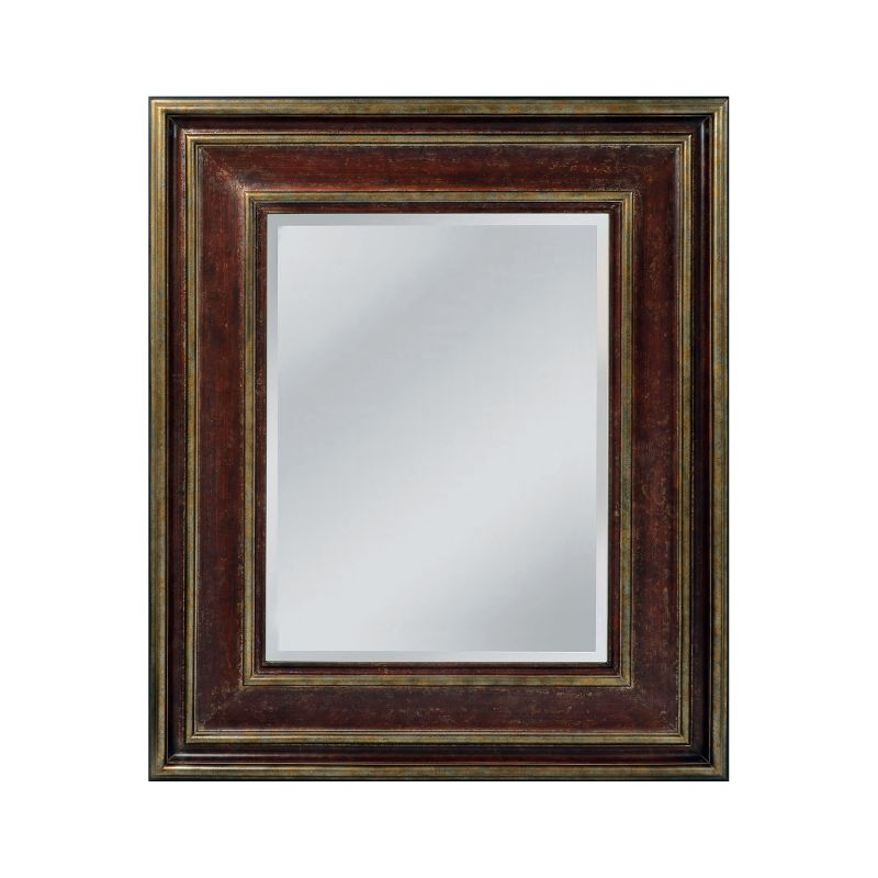 "Mirror Masters MW4014 Kenniston 60"" Rectangular Mirror with Decorative"