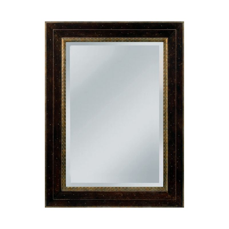 "Mirror Masters MW4053A Darcey 34"" Rectangular Mirror with Decorative"