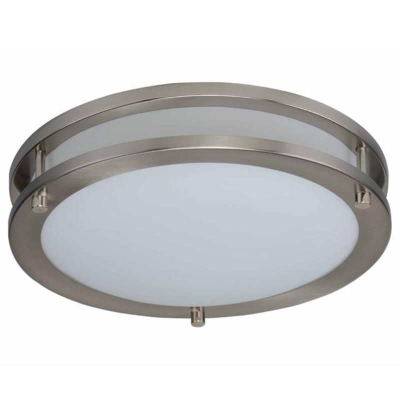 Miseno MLIT-03-3134 Single Light Energy Star LED Flush Mount Brushed