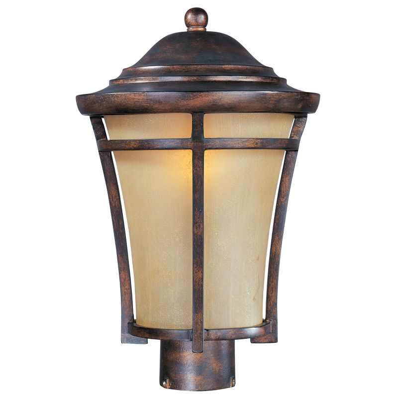 Miseno MLIT-08516 Balboa One Light Post Light Copper Oxide Outdoor