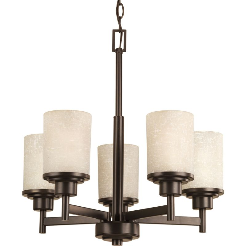 Miseno MLIT-11047-CH5 Pasco Five Light Chandelier Antique Bronze