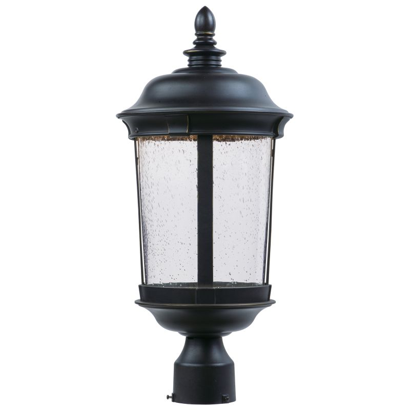 Miseno MLIT-15502 Dover Single LED Post Light Bronze Outdoor Lighting