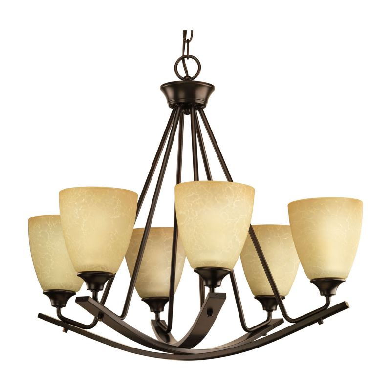Miseno MLIT-8230-CH6 Zulli Six Light Chandelier Antique Bronze Indoor