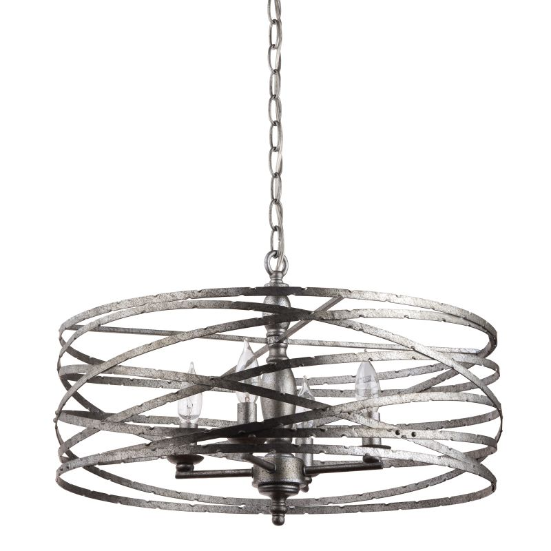 "Miseno MLIT143977RT Annata 4-Light Chandelier with 72"" Adjustable"