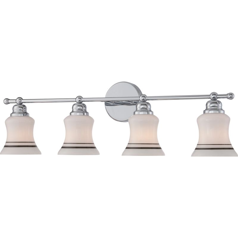 Miseno MLIT2788D1 Reversible 4-Light Bathroom Vanity Fixture