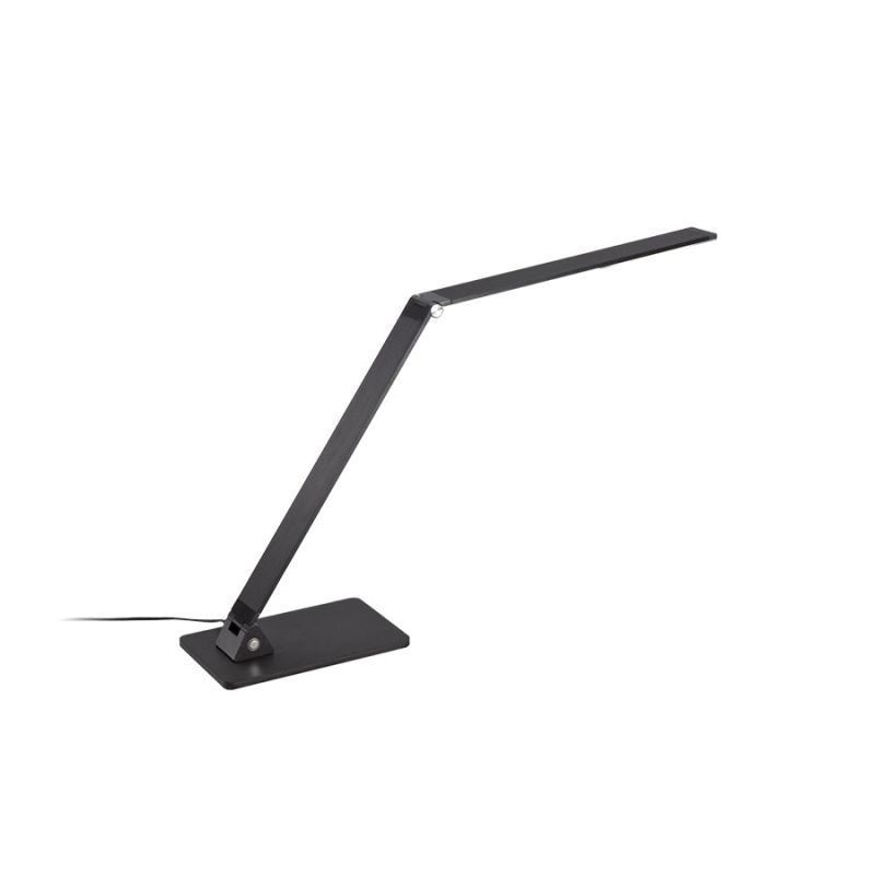 Modern Forms TL-1110 Flat LED Table Lamp Black Lamps Swing Arm Lamps