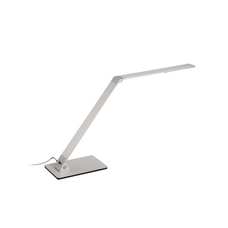 Modern Forms TL-1110 Flat LED Table Lamp Aluminum Lamps Swing Arm