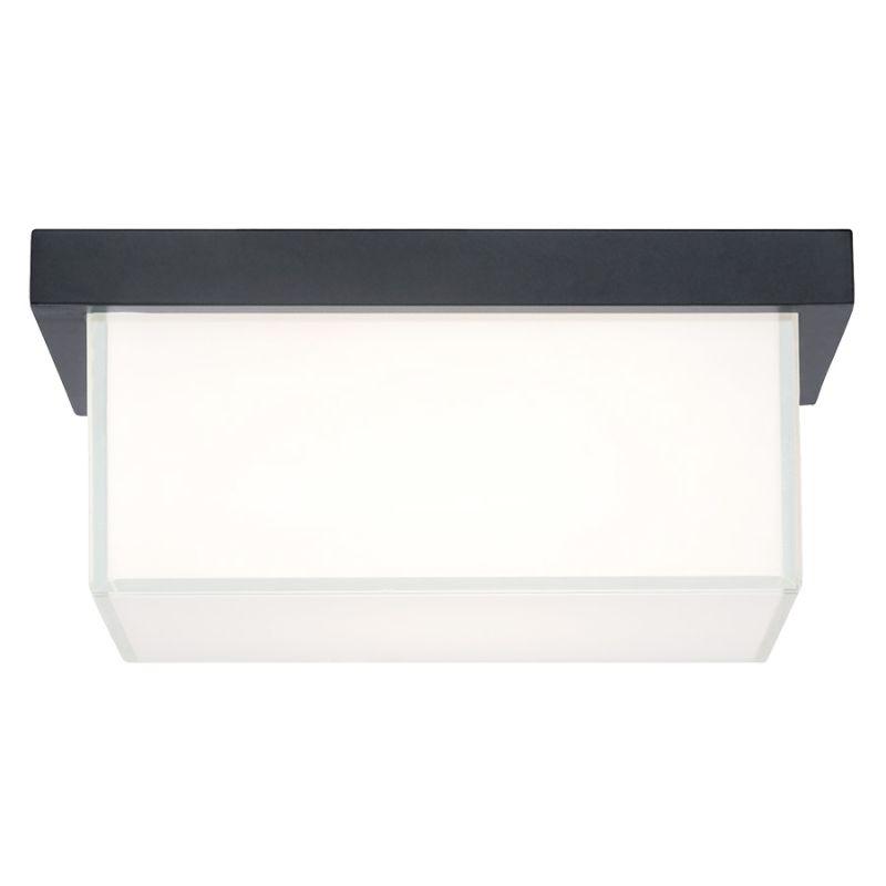 """Modern Forms FM-1410 Ledge 1 Light 8"""" Wide LED Outdoor Flush Mount"""