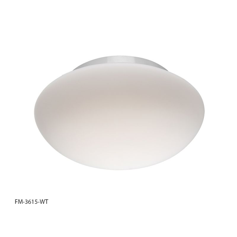 "Modern Forms FM-3615 Loft 15"" Diameter LED Dimming Flush Mount Ceiling"