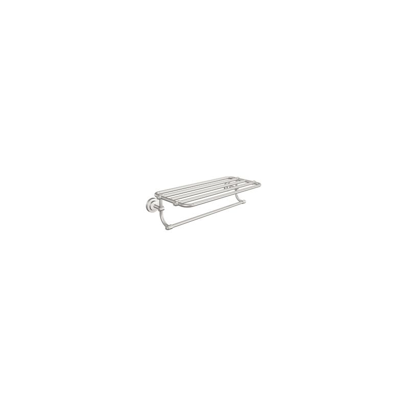 "Moen DN0794 24"" Towel Shelf from the Iso Collection Brushed Nickel"