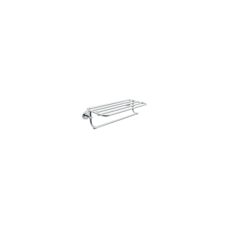 "Moen DN0794 24"" Towel Shelf from the Iso Collection Chrome Accessory"