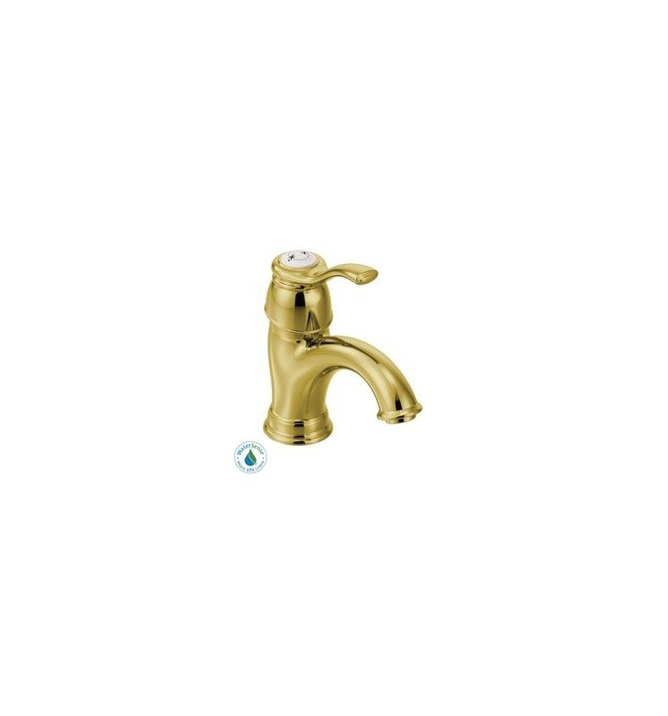 Moen 6102 Single Handle Single Hole Bathroom Faucet from the Kingsley