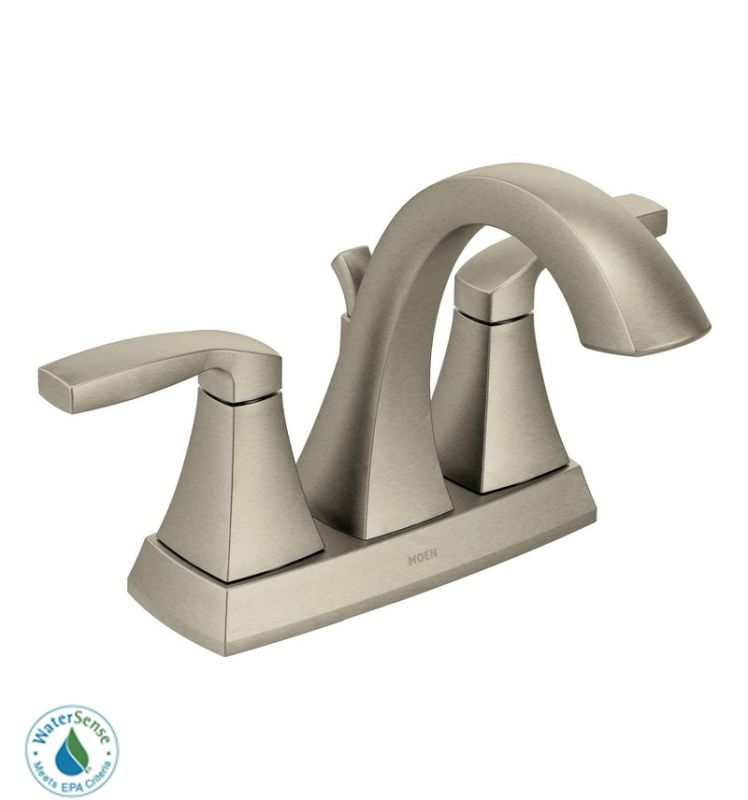 Moen 6901 Double Handle Centerset Bathroom Faucet from the Voss