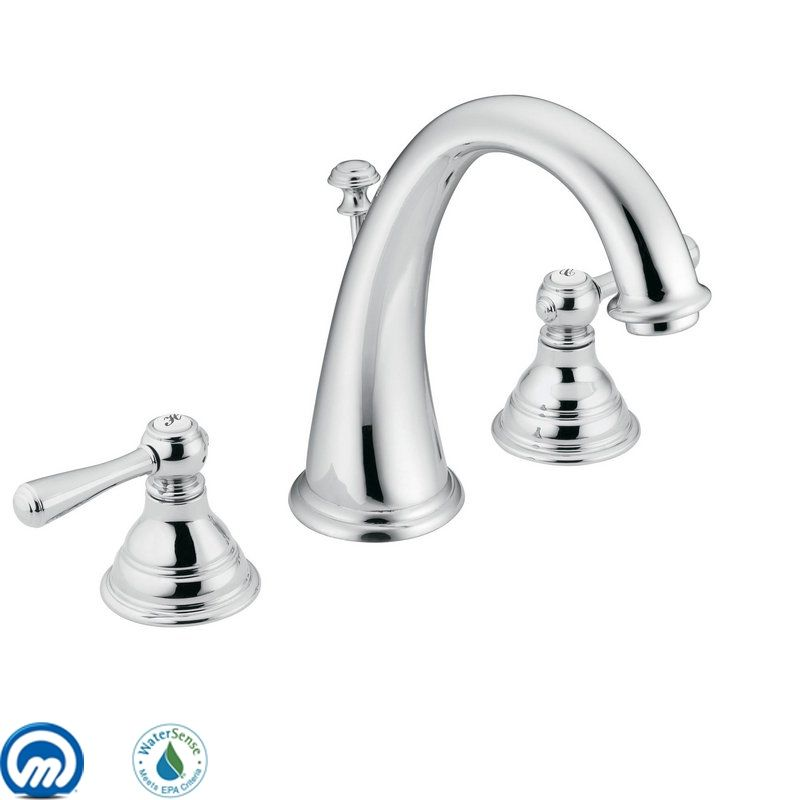 Moen T6125 Double Handle Widespread Bathroom Faucet from the Kingsley Sale $209.44 ITEM: bci197098 ID#:T6125 UPC: 26508126820 :