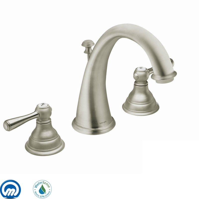 Moen T6125 Double Handle Widespread Bathroom Faucet from the Kingsley Sale $352.02 ITEM: bci1020829 ID#:T6125BN UPC: 26508126844 :